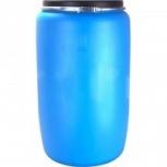 Бочка тара пластиковая с крышкой на обруч 227 литров, Екатеринбург
