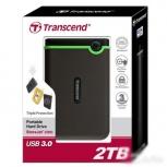 Жёсткий диск 2TB Transcend TS2TSJ25M3 в упаковке, Екатеринбург