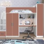 Кровать-чердак Тея винтерберг-амарант, Екатеринбург
