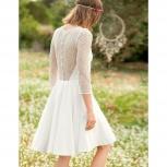 Нежное свадебное платье из Франции, Екатеринбург