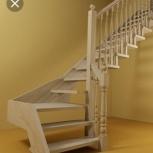 Продам деревянную поворотную лестницу на второй этаж, Екатеринбург