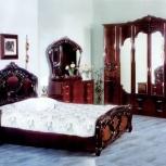Модульная спальня Ольга могано Комплект с 6-ти дверным шкафом (Авт), Екатеринбург