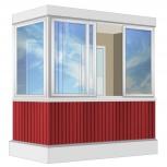 Балкон Provedal Алюминиевый 2400 Г-образное, Екатеринбург