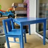 Стол и стульчик детские IKEA (б/у), Екатеринбург