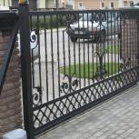 Откатные-сдвижные кованные ворота от производителя качество 100 %, Екатеринбург