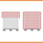 Стрейч худер для упаковки поддонов с продукцией в капюшон из пленки, Екатеринбург