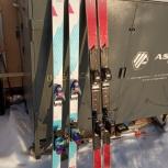 Продаю 2 пары горных лыж с креплениями, Екатеринбург