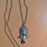 Кулон индийской богини на цепочке, Екатеринбург