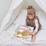 Подушка с пайетками, печать на подушке любого фото или изображения, Екатеринбург