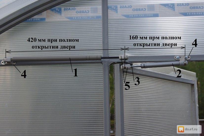 Автоматические системы проветривания теплиц 193