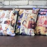 подушки декоративные с фото, Екатеринбург