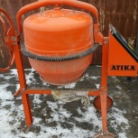 Продам бетономешалку ATIKA BM125, Екатеринбург