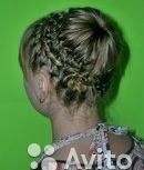 Прически на основе кос, локоны, макияж, Екатеринбург