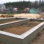 Строительство ленточного фундамента, Екатеринбург