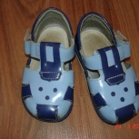 Недорого продам детские кожаные сандалики на мальчика, р-р 20, Екатеринбург
