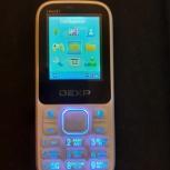 Продам сотовый телефон DEXT 2 sim карты, Екатеринбург
