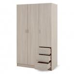 Шкаф 3-дверный 120х202х57,5 см, Екатеринбург