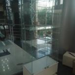 Стеклянная витрина для магазина, шоу-рума, Екатеринбург