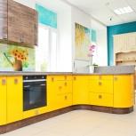 Кухня на заказ Оранжевый гербер (Финист), Екатеринбург