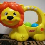 Развивающая игрушка, говорящий львенок Playskool, Екатеринбург