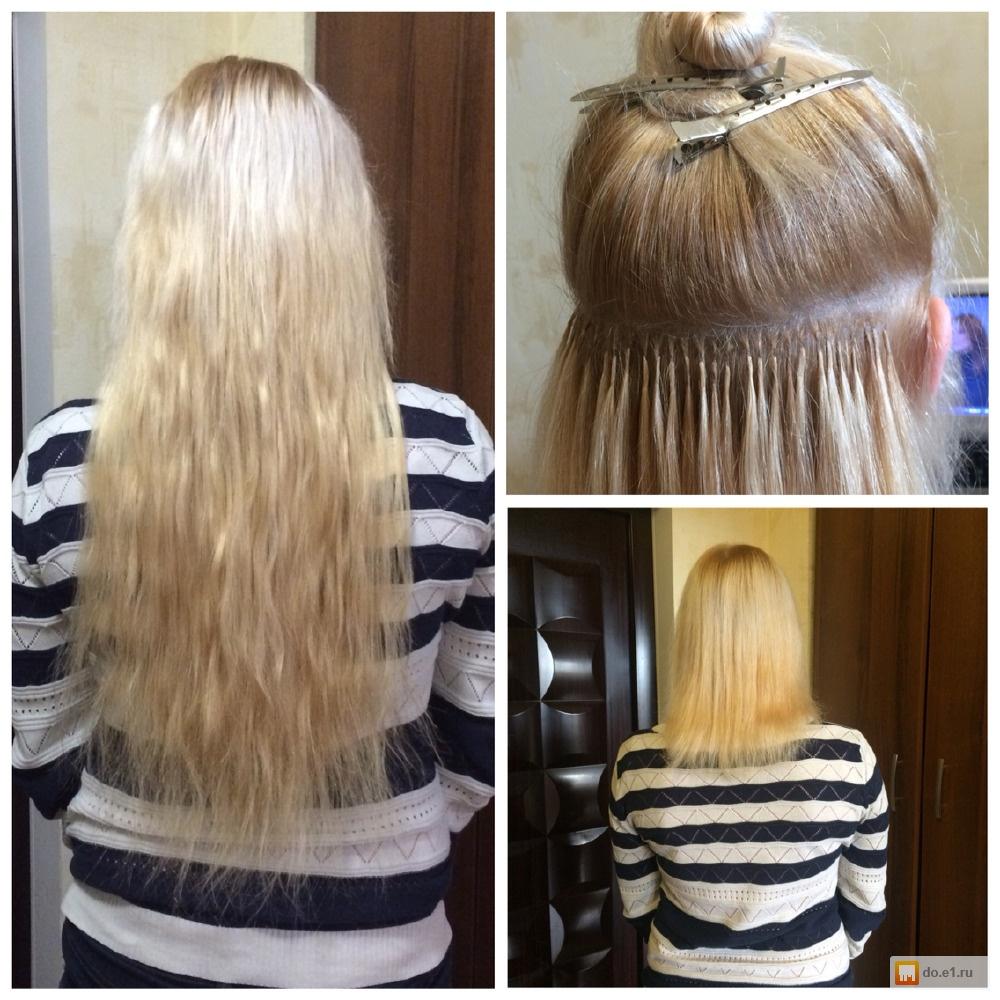 Микронаращивание волос в екатеринбурге