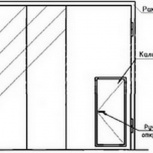 Ворота складчатые ВРС 42-42-ухл1, 1.435.2-28, Екатеринбург