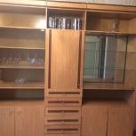 продаю стенку для зала/гостиной, светлый орех, Екатеринбург