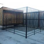Вольер для больших собак  4*6 метров  с возможностью блок-системы., Екатеринбург