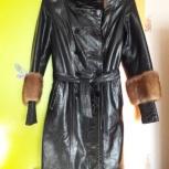 Женское кожаное зимнее пальто, Екатеринбург