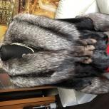 Норковая шубка с воротником из чернобурой лисы, Екатеринбург