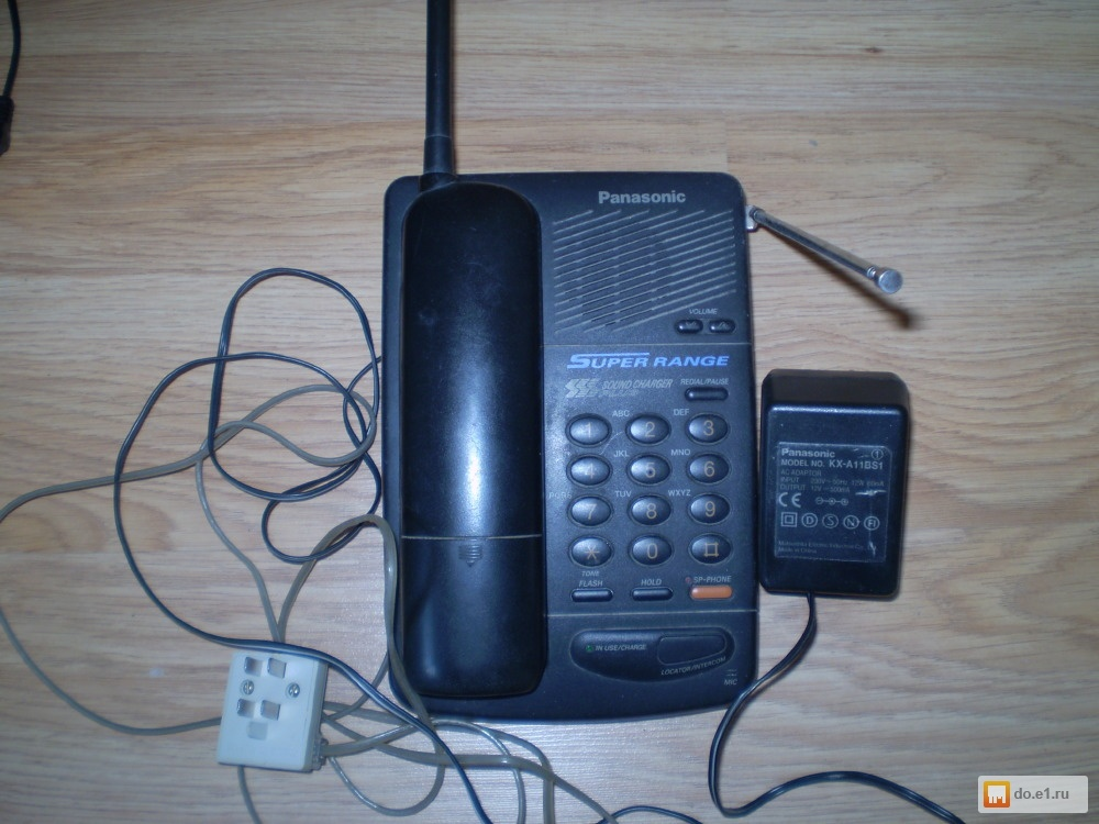 Инструкция по использованию телефона panasonic kx tc1045rub