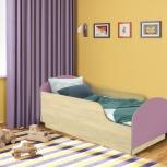 Детская кровать Малыш,  Клен / Ирис (Миди), Екатеринбург
