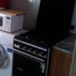 Кухонная плита, газовая,4 комфорочная, коричневая., Екатеринбург