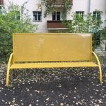 Уличные скамейки с возможностью размещения рекламы, Екатеринбург