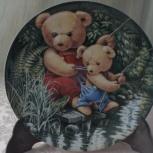 Тэдди и его друзья настенные тарелки, Екатеринбург
