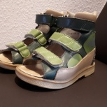 Ортопедические сандали с высоким берцем для мальчика 22 размер, Екатеринбург