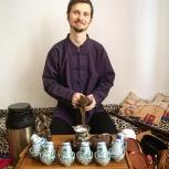 Весенняя Чайная церемония с зелеными чаями  и интуитивное рисование, Екатеринбург