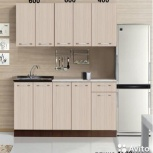 Новая Кухня, модель Фиджи-1 длина 1600мм, Екатеринбург