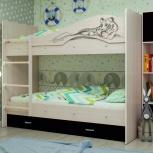 Двухъярусная кровать Мая Сафари Венге, Екатеринбург
