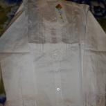 Блузка для девочки Damy, р.140, белая, новая, Екатеринбург
