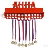 Медальница с полкой, медальница спортивная, Екатеринбург