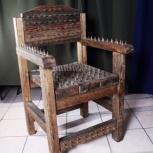 Оригинальный стул ручной работы., Екатеринбург