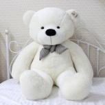 Плюшевый мишка 80 см белый, Екатеринбург