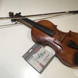 скрипка со смычком Горонок три четверти 14000 торг, Екатеринбург