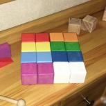 Кубики цветные деревянные, Екатеринбург