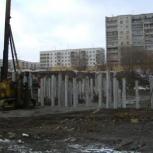 Свайные работы, забивка свай, погружение свай, сваебойные работы, Екатеринбург