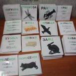 Карточки по методике Зайцева, Екатеринбург