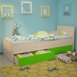 Кровать Антошка, 80*190 см, Лайм (ТМК), Екатеринбург