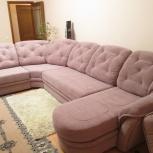 Перетяжка угловых диванов из 4-х секций, Екатеринбург