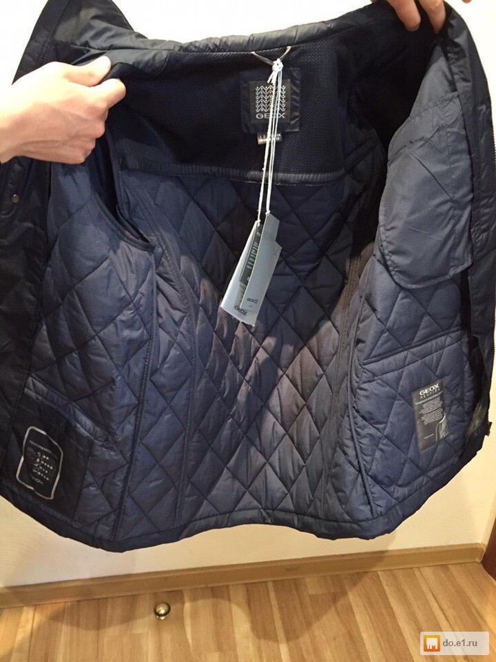 296c09987ea Новая весенняя куртка GEOX мужская фото